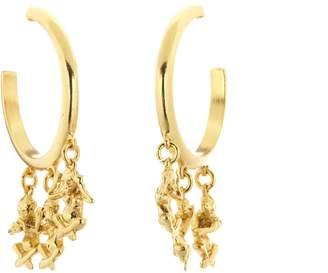 Oscar de la Renta No Evil Earrings