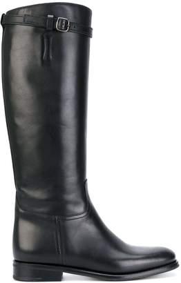 Church's knee high buckle boots