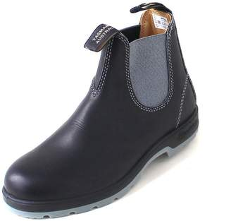 Blundstone The Leather Lined Classic Chelsea Boot (11 AUS/Mens 12 US, Black/Grey)