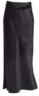 The Row Women's Molly Silk Maxi Skirt - Black - Size XS