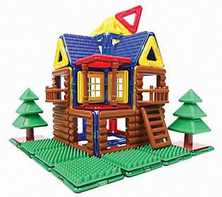 Magformers Log House 87-Piece Set
