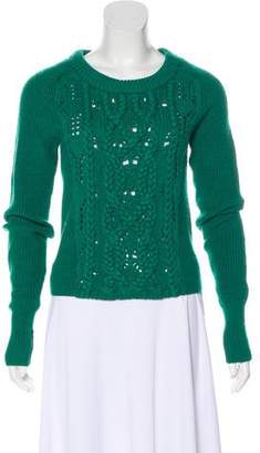 Marc by Marc Jacobs Merino Wool Cable Knit Sweater