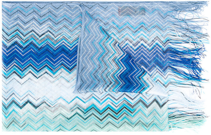 MissoniMissoni zigzag fringed scarf