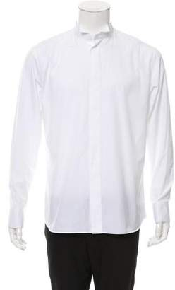 Christian Dior Wing Collar Button-Up Shirt w/ Tags