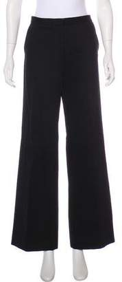 Balenciaga High-Rise Wide-Leg Pants