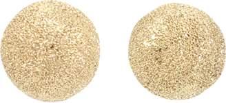 Carolina Bucci Mirador Small Sparkly Gold Earrings