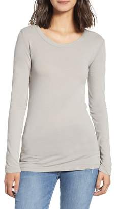 James Perse 'Ballet' Long Sleeve Tee