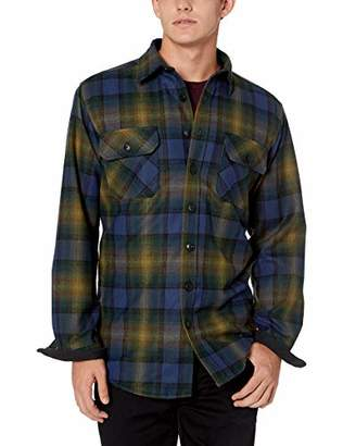 Pendleton Men's Quilted CPO in Wool Shirt Jacket Tall