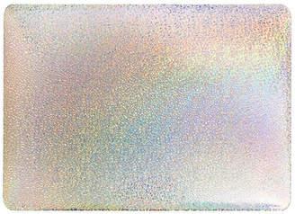 "SARINA Silver Glitter Hard Shell 13\"" MacBook Air Laptop Case"