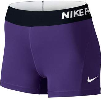 Nike Women's Pro Cool 3-Inch Training Shorts (/)