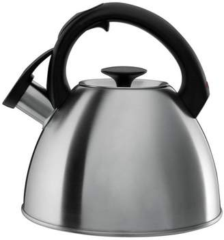 OXO 2.1qt Stovetop Tea Kettle Brushed Stainless - Black 1072130