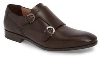 Salvatore Ferragamo Blair Double Strap Monk Shoe
