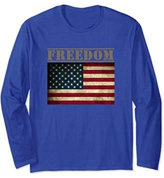 Freedom and the USA Flag Shirt