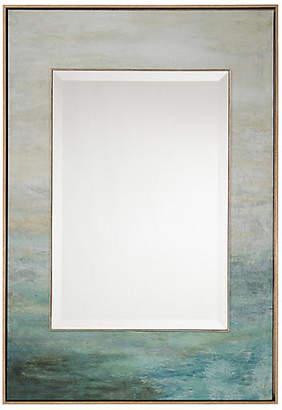 John-Richard Collection John Richard As the Water Flows Oversize Wall Mirror - Blue