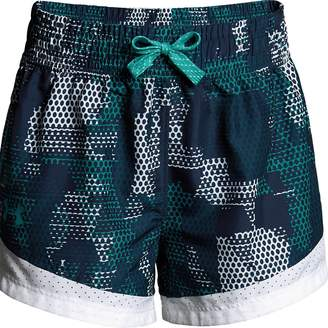 Under Armour Girls 7-16 Sprint Printed Shorts