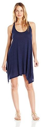Lucky Brand Women's Verna Floral Whip Back Cover up Dress $29.99 thestylecure.com