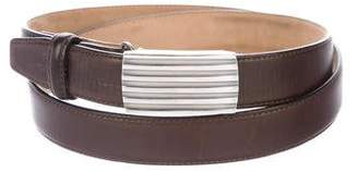 Tiffany & Co. Calfskin Buckle Belt