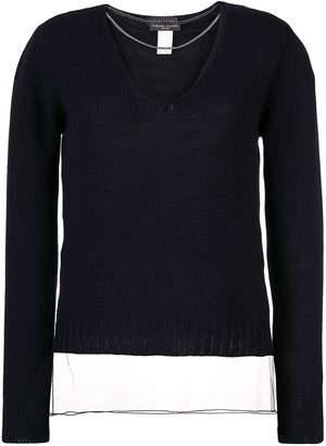 Fabiana Filippi sheer knitted sweater