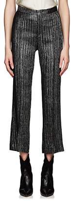 Isabel Marant Women's Denlo Metallic Striped Trousers