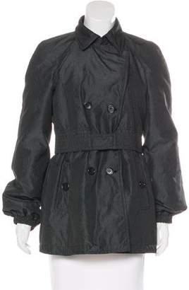 Etro Padded Double-Breasted Coat