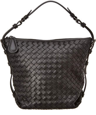 Bottega Veneta Small Intrecciato Leather Hobo Bag