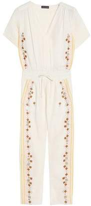 Antik Batik Embroidered Cotton-Gauze Jumpsuit