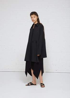 Yohji Yamamoto Button Patched Coat