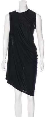 Rick Owens Asymmetrical Midi Dress