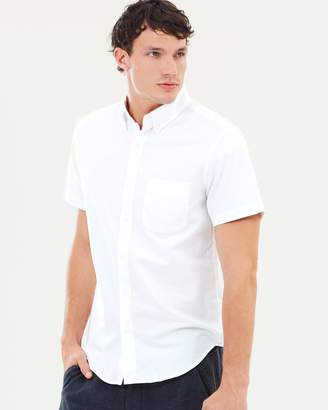 J.Crew Pima Cotton SS Oxford Shirt