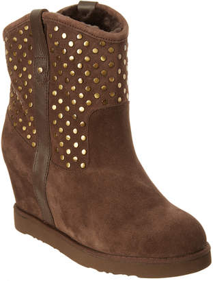 Australia Luxe Collective Women's Studley Suede Wedge Boot