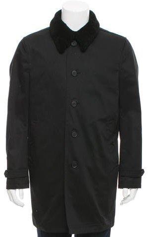 Paul SmithPaul Smith Twill Macintosh Coat
