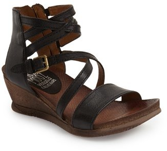 Women's Miz Mooz 'Shay' Wedge Sandal $149.95 thestylecure.com