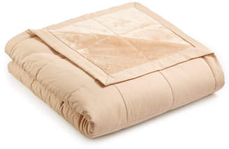 Martha Stewart Collection Down Alternative Reverse to Plush Full/Queen Blanket