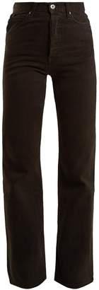 EVE DENIM Juliette high-rise straight-leg jeans
