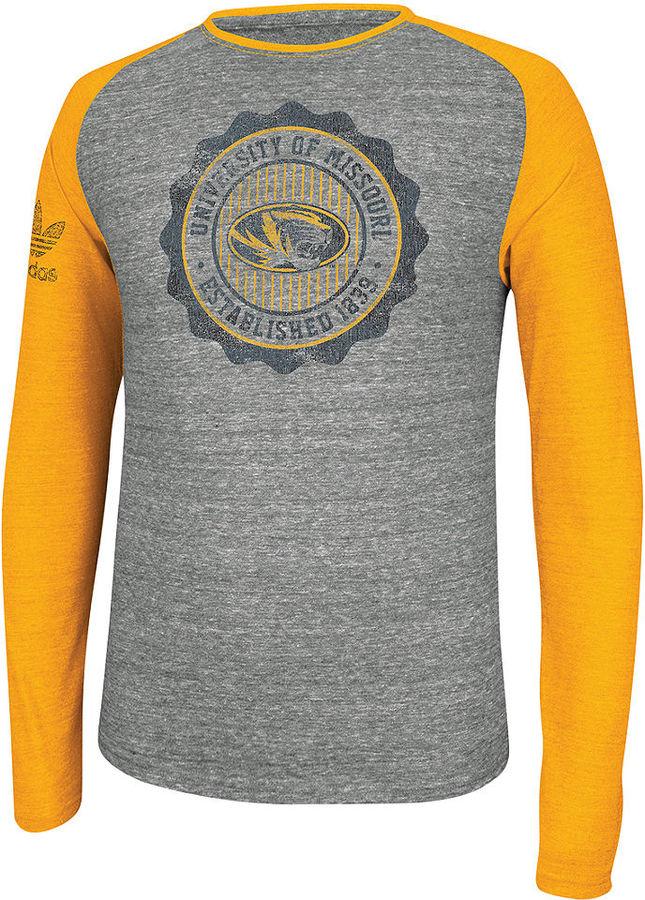 adidas Men's Shirt, NCAA Sport Arch Missouri