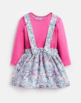 Joules Clothing Baby cali Long Sleeved Body Suit With Brace Skirt Set