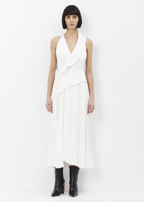 Proenza Schouler white sleeveless cut out long dress $2,650 thestylecure.com