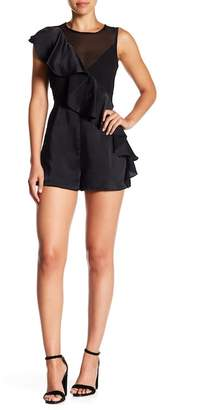 Do & Be Do + Be Asymmetrical Ruffle Romper