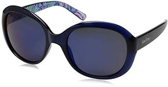 Lilly Pulitzer Women's Magnolia Polarized Round Sunglasses