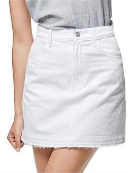 J Brand Bonny Mid Rise Mini Skirt