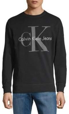 Calvin Klein Jeans Logo Cotton Sweatshirt