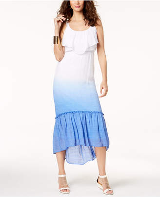 Thalia Sodi Dip-Dyed Maxi Dress