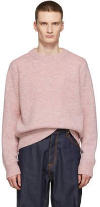 Acne Studios Pink Kai Crewneck Sweater
