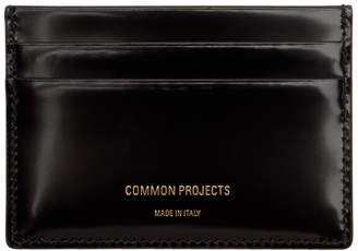 Woman by Common Projects Black Patent Multi Card Holder