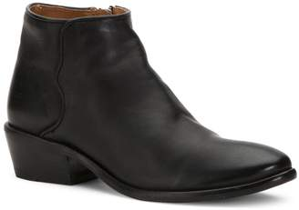 Frye Carson Piping Leather Booties