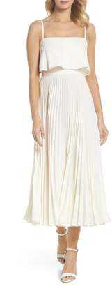 Jill Stuart Pleated Midi Dress