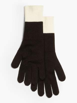 Talbots Colorblocked Knit Glove