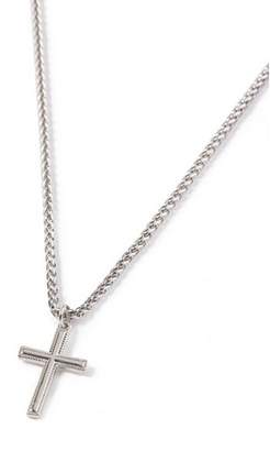 Topman Mens Silver Cross Necklace*