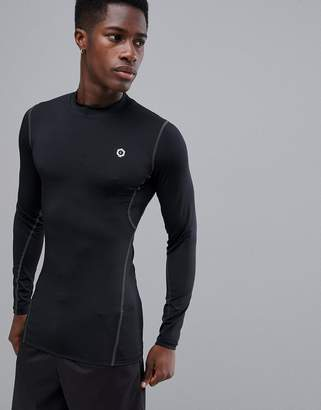 Jack and Jones Core Performance Long Sleeve Base Layer T-Shirt