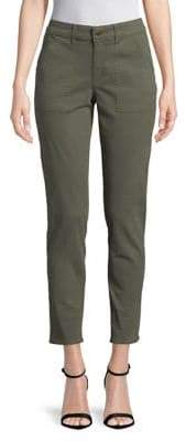 Lord & Taylor Plus Skinny Utility Trousers